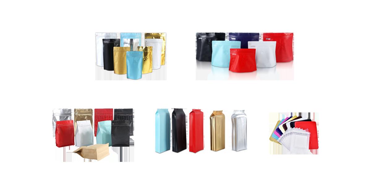 All Types Coffee Packaging Bag