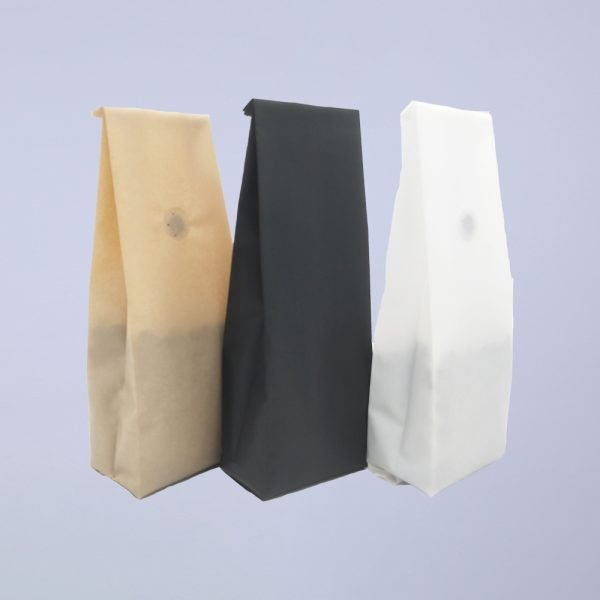 colored recycle side gusset coffee bags 2