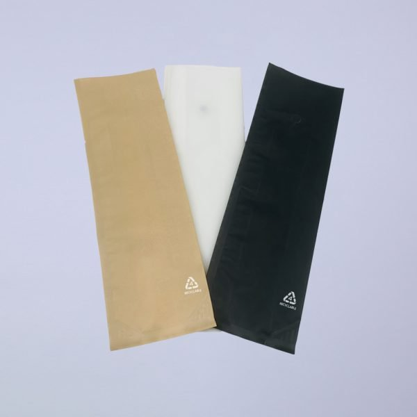 colored recycle side gusset coffee bags