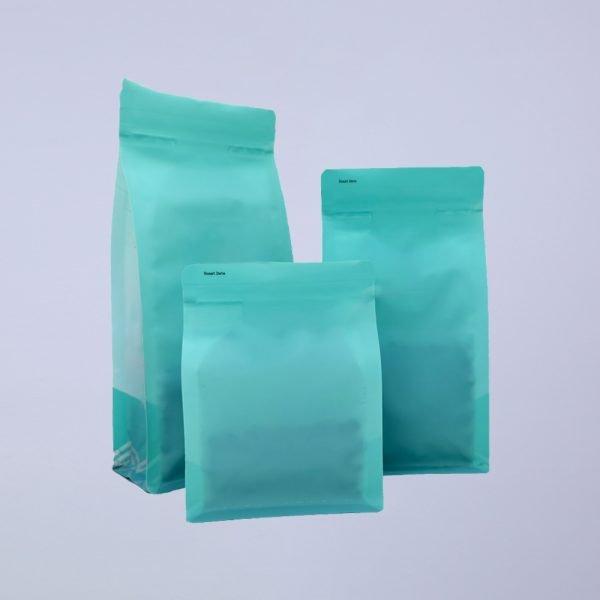 Matte Bottom Gusset Coffee Bags 2