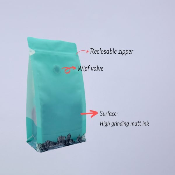 Matte Bottom Gusset Coffee Bags 3