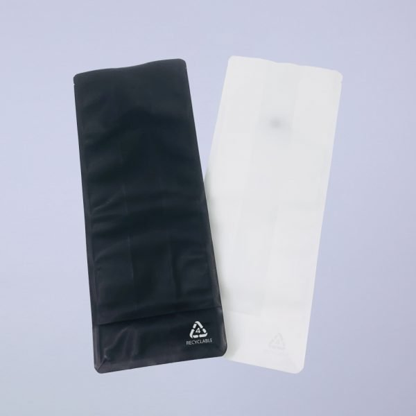 recyclable flat bottom coffee bags