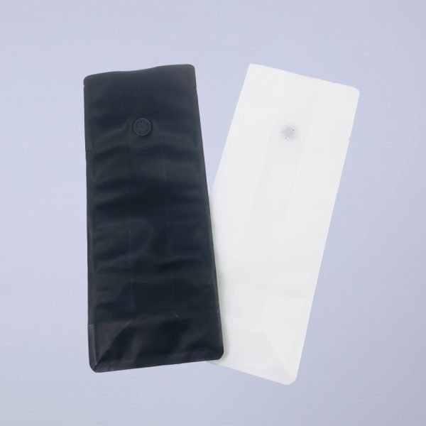 recyclable flat bottom coffee bags main