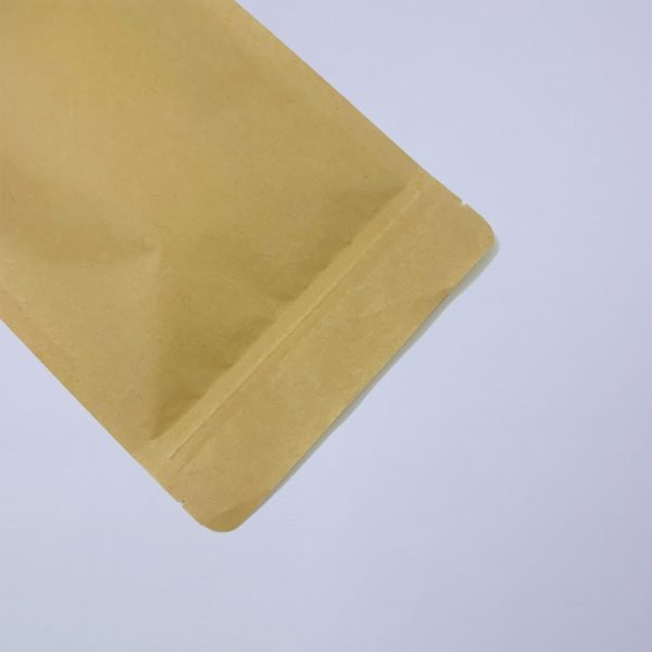 biodegradable dawang paper pla stand up coffee pouches detail 2