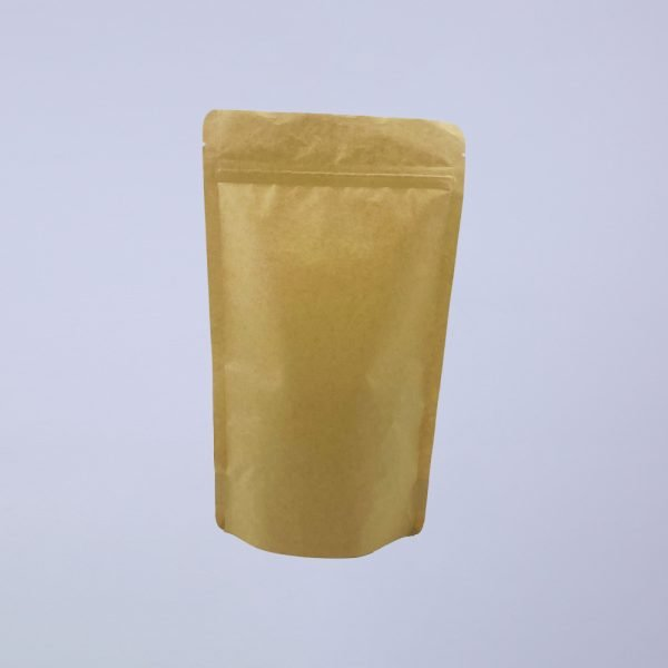 biodegradable dawang paper pla stand up coffee pouches detail 4