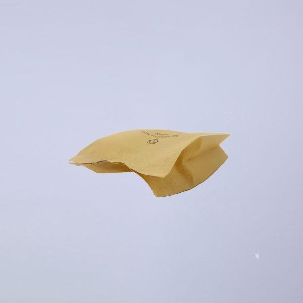 imitation kraft paper side gusset coffee bags detail 4